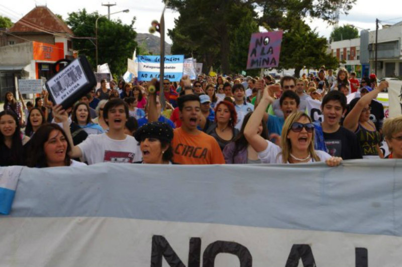Convocatoria Marcha Carnaval contra la Megaminería de Congreso a Plaza de Mayo