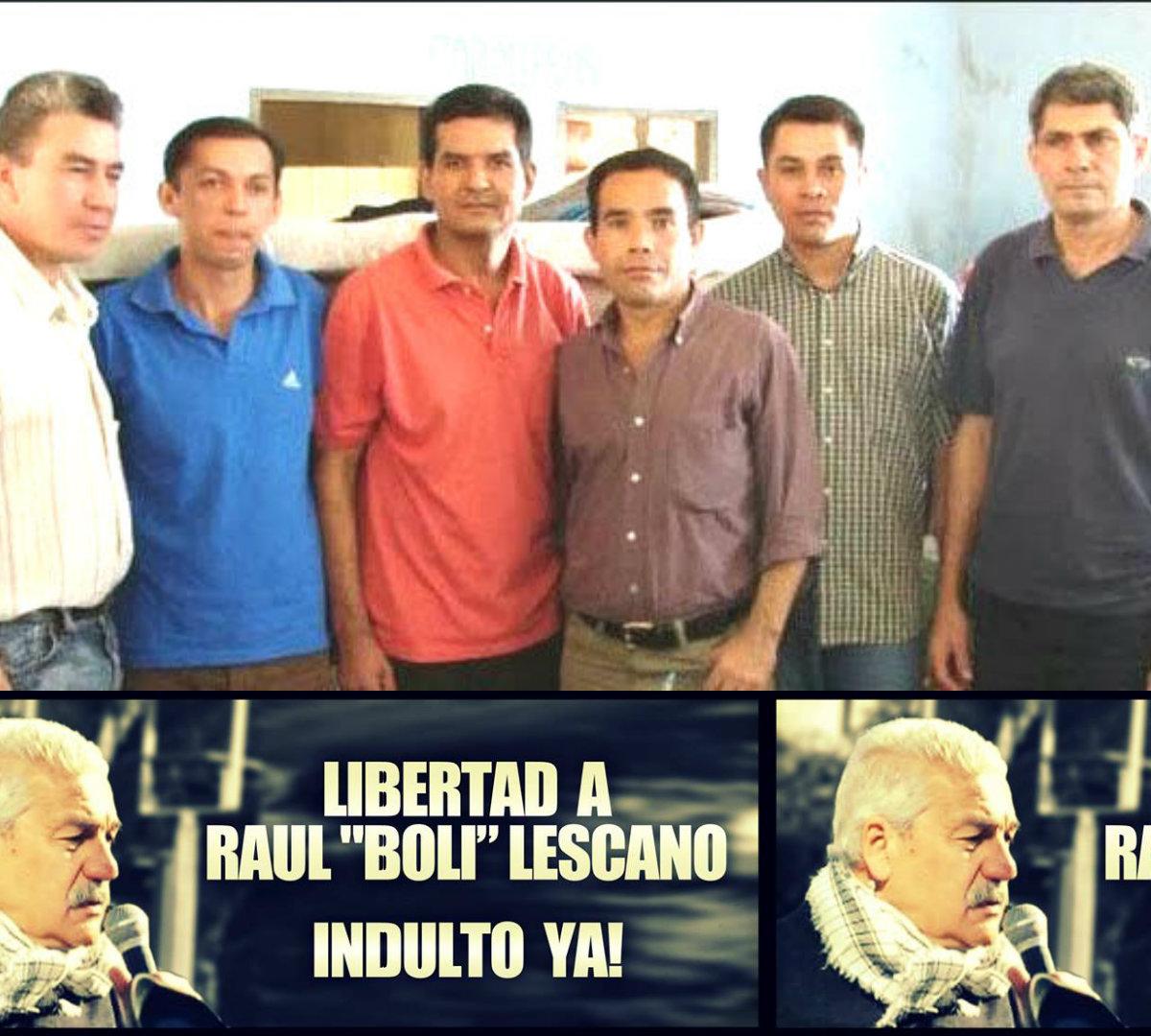 """«Al muy querido compañero Raúl Lezcano, Boli"""""""