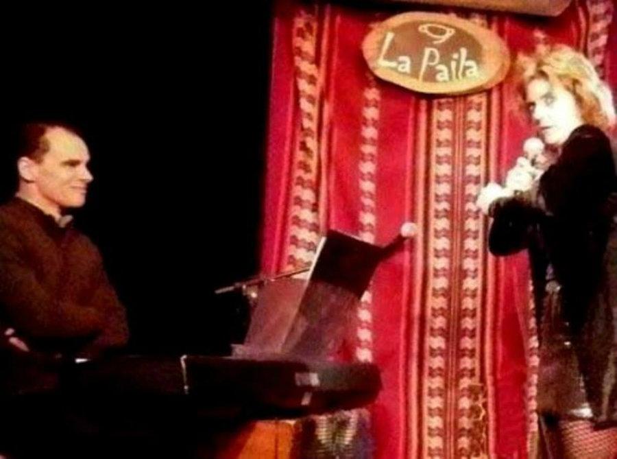 Paula Mellid y Sergio Olivé a puro tango en el Saint Elmo
