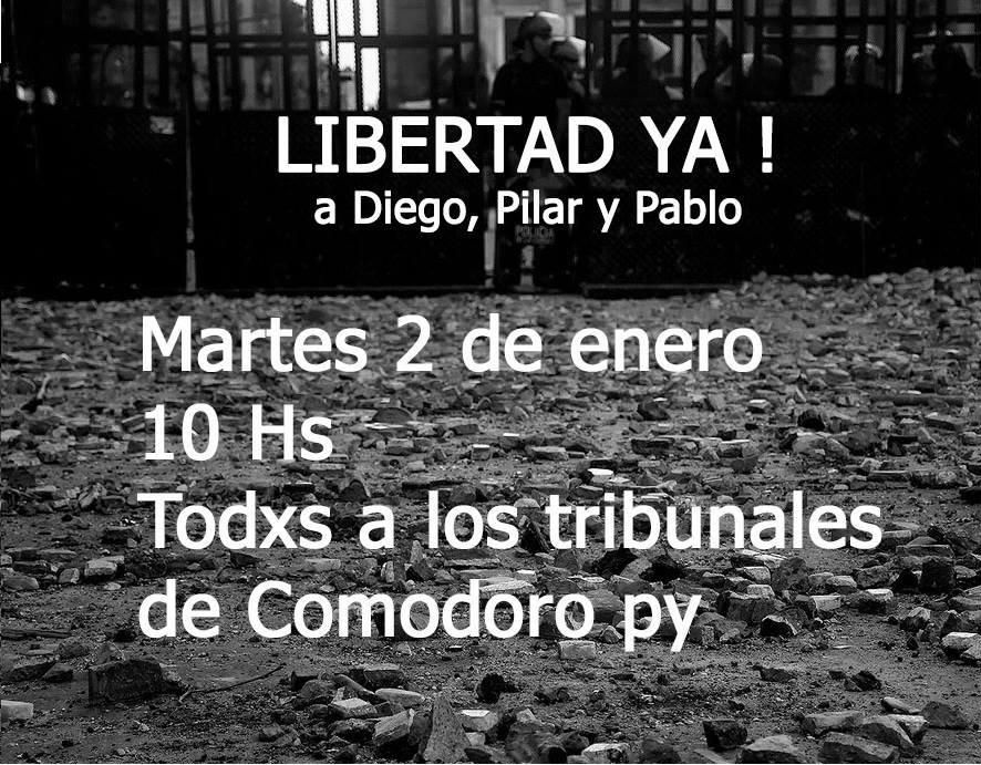 Martes 2/1/18 - Todos a Comodoro Py - Para la libertad
