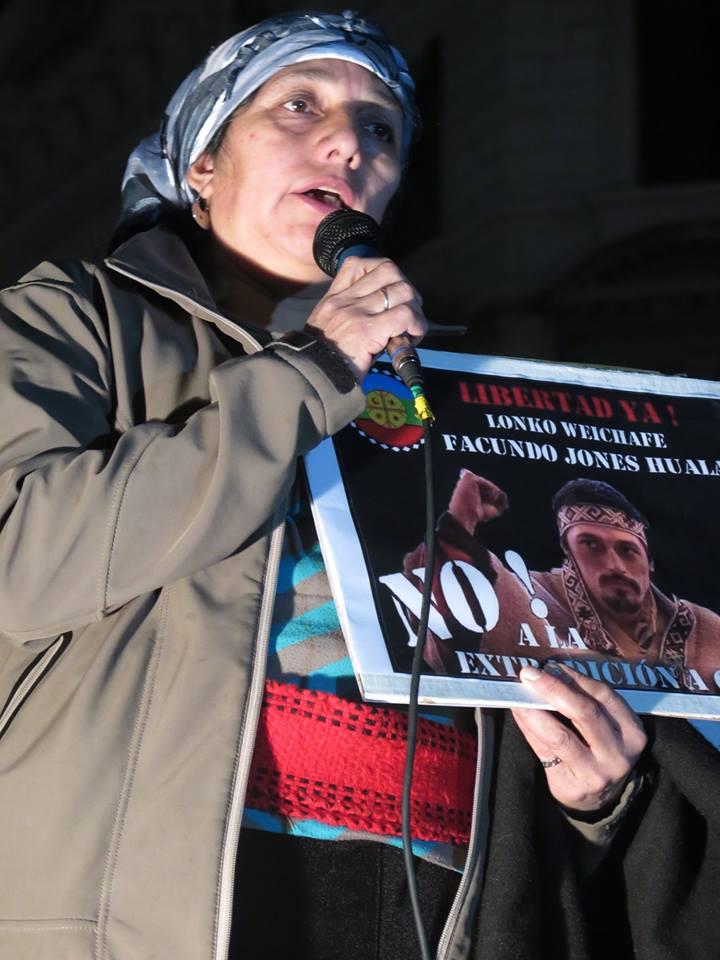 Con Isabel Huala a la Casa Rosada por la NO extradición del lonko mapuche