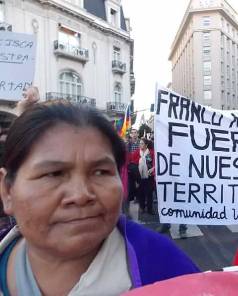 Libertad a María Mendoza, qom presa en Formosa