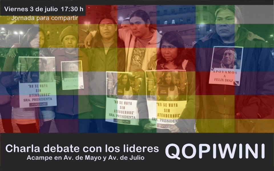 Charla debate con los líderes QOM-PILAGA-WICHI-NIVACLE