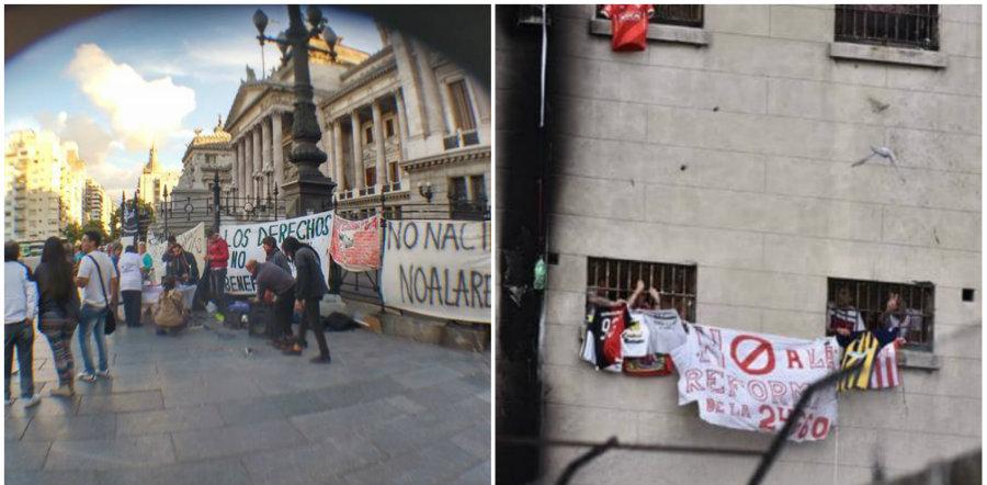 Huelgas y batucadas en Devoto, Ezeiza y otros penales del país contra la Reforma de la Ley 24660 - Miércoles, desde las 15 horas,  concentración en el Congreso