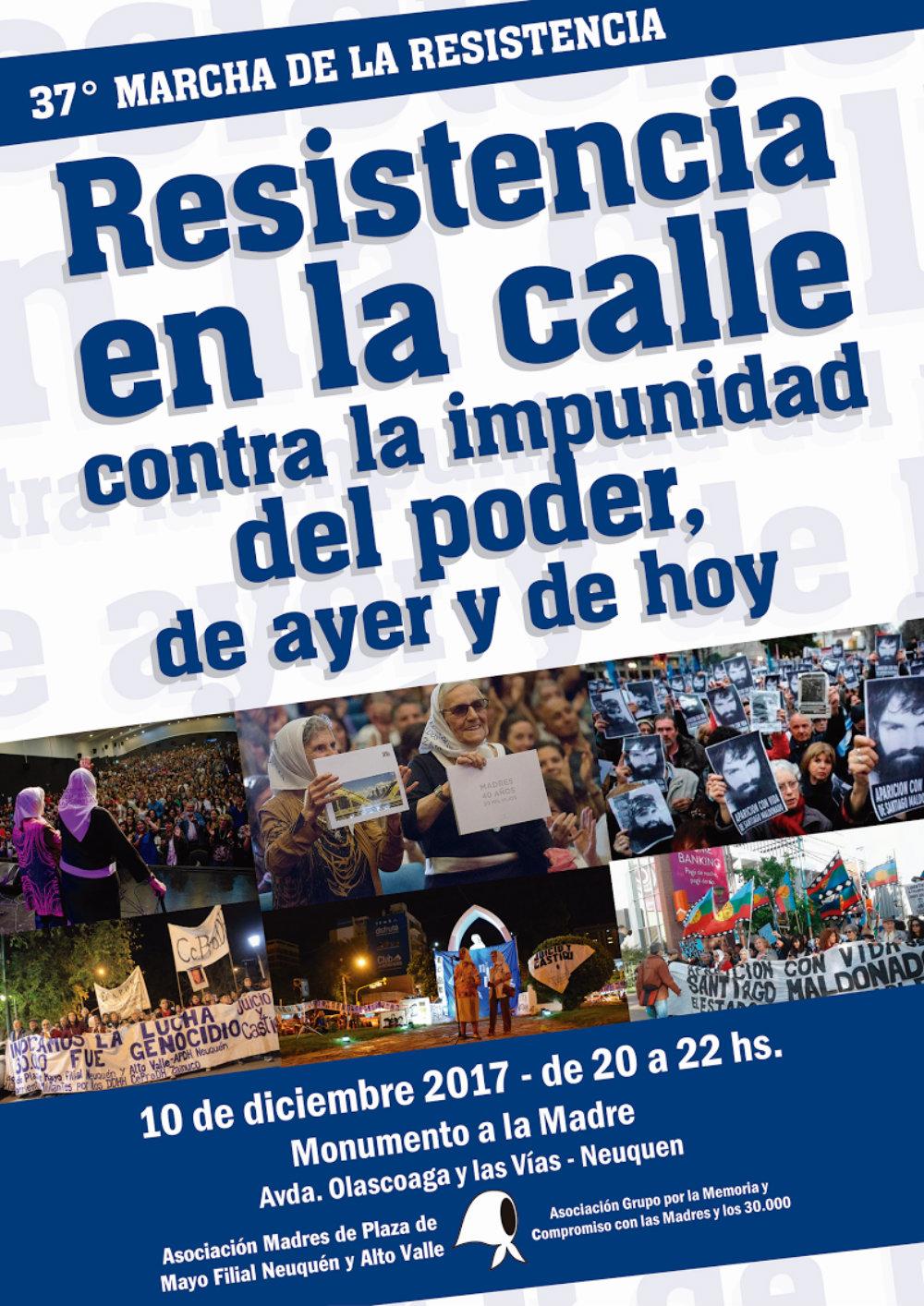Marcha de la Resistencia en Neuquén