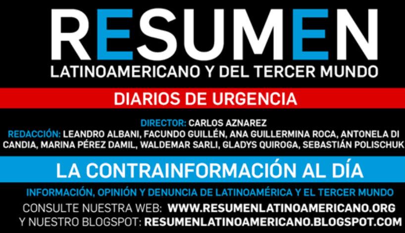 Conferencia de prensa en el Bauen por el ataque político a Resumen Latinoamericano – 6-1-17- 11 horas -