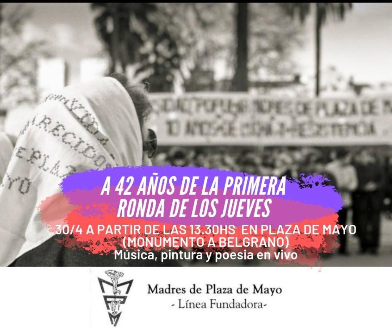 Ronda Histórica de las Madres de Plaza de Mayo Línea Fundadora