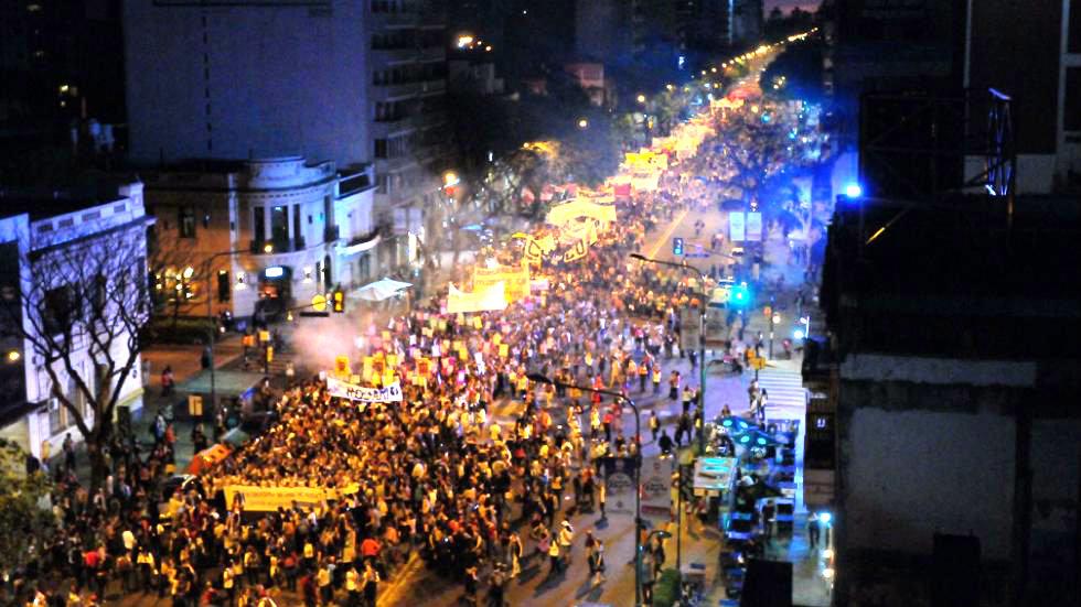 Amplio repudio popular a la represión policial en el 31° Encuentro Nacional de Mujeres