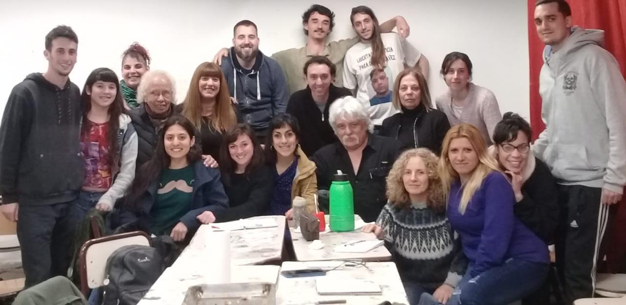 Genocidios: Intercambio en Escuela Superior de Educación Artística Rogelio Yrurtia