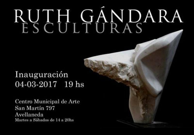 Ruth Gándara expone sus creaciones