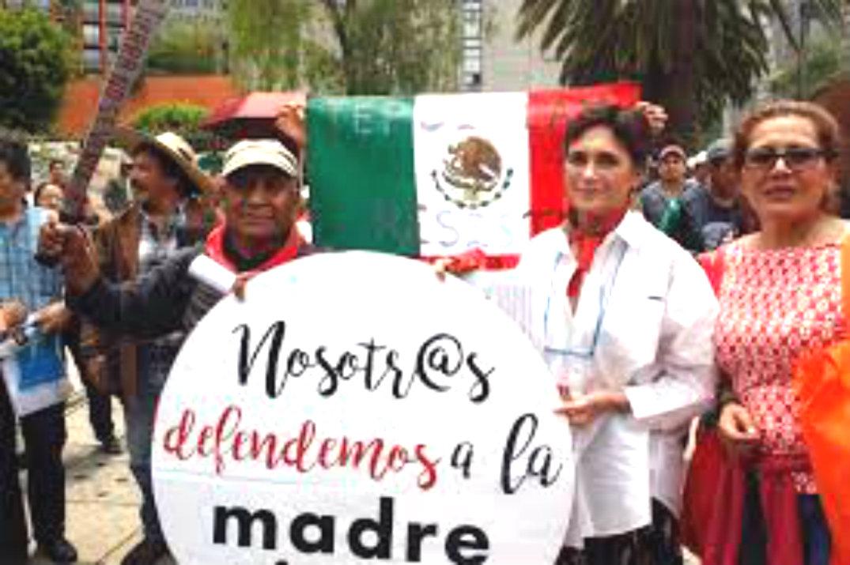 México:  Campaña en Defensa de la Madre tierra y el Territorio