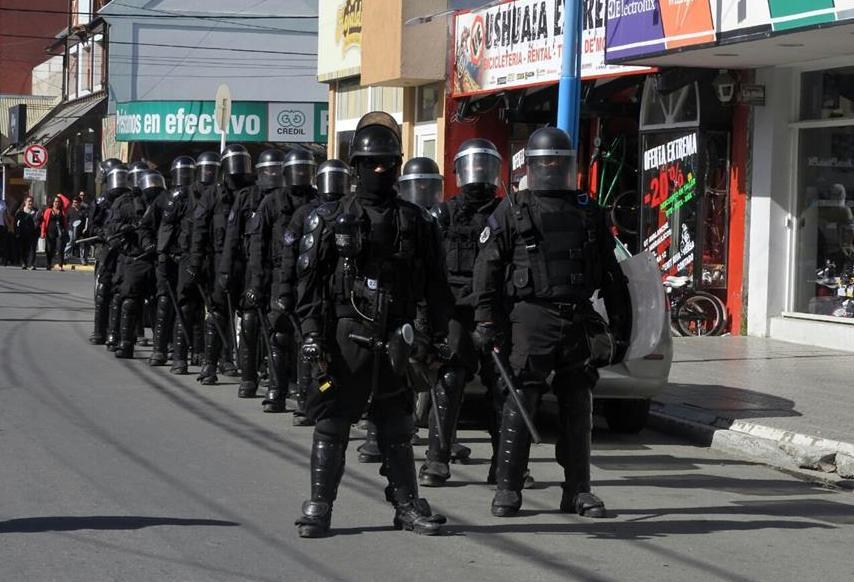 Ushuaia: ¡Libertad a los luchadores encarcelados!
