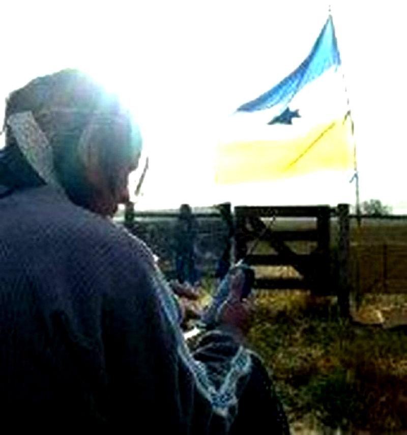Incendiaron viviendas de la comunidad mapuche-tehuelche de Vuelta del Río