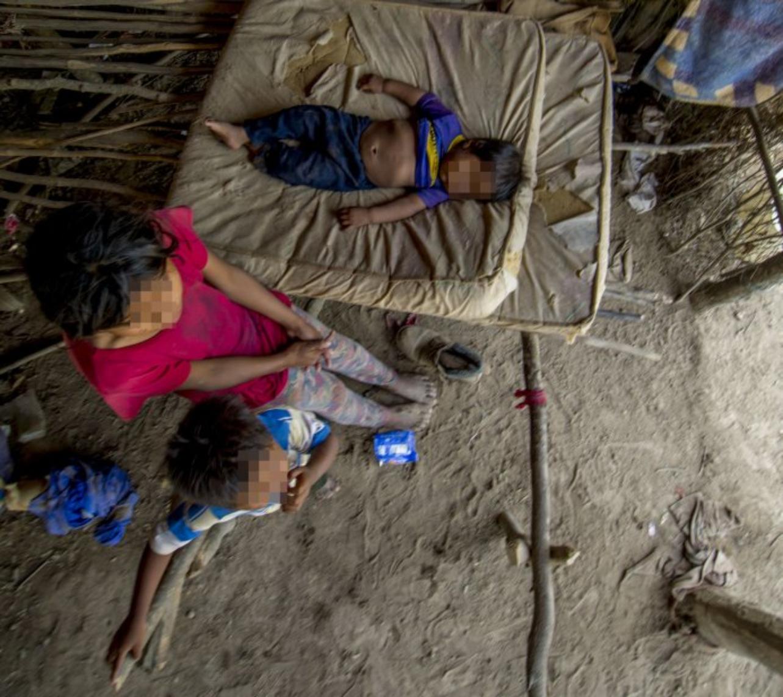 Seis chicos wichí fueron detenidos en Ingeniero Juárez, Formosa.